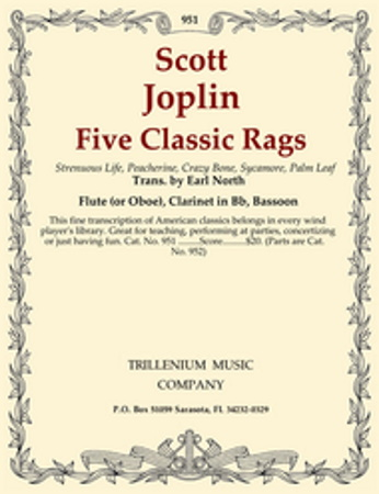 FIVE CLASSIC RAGS (set of parts)