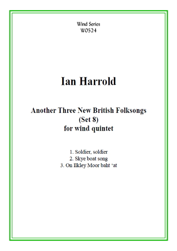 ANOTHER THREE NEW BRITISH FOLKSONGS (score & parts)