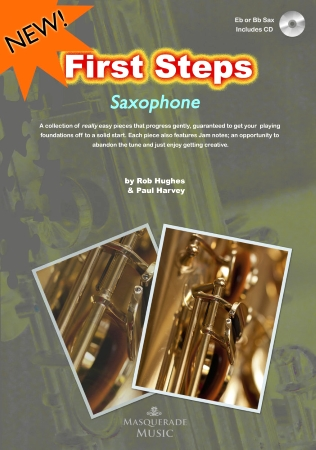 FIRST STEPS Saxophone + CD