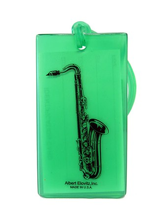 IDENTIFICATION TAG Saxophone