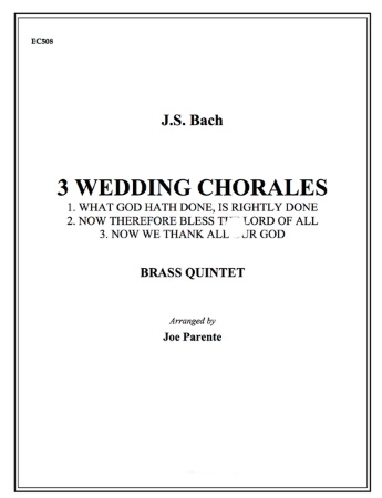 THREE WEDDING CHORALES