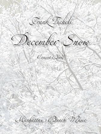 DECEMBER SNOW (score & parts)