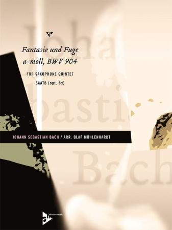 FANTASIE UND FUGE in A minor BWV 904 (score & parts)