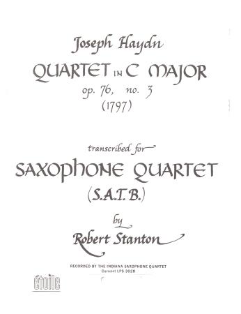QUARTET in C Op.76/3