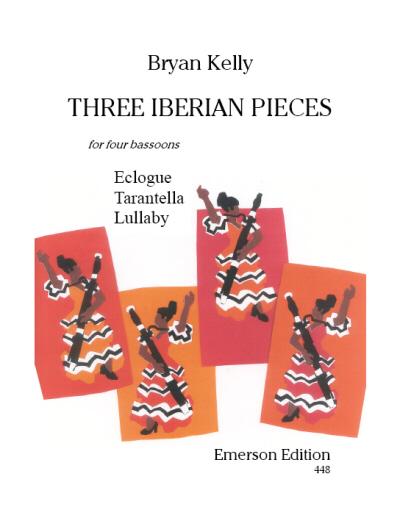 THREE IBERIAN PIECES score & parts