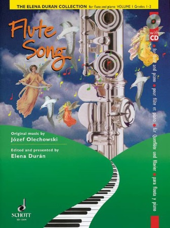 ELENA DURAN COLLECTION Volume 1 + CD Flute Song