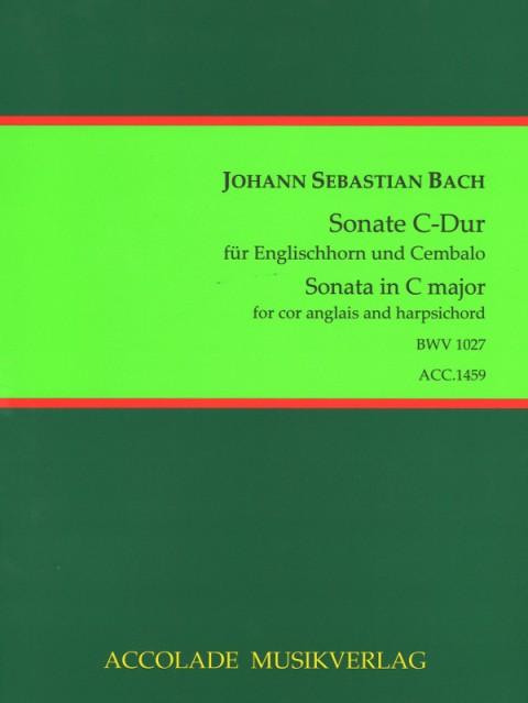 SONATA in C major BWV1027