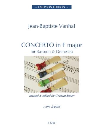 CONCERTO in F major (score & parts)