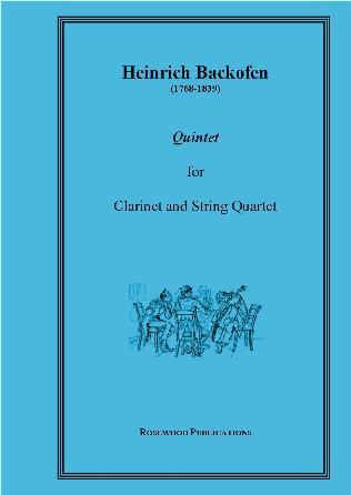 CLARINET QUINTET Op.15