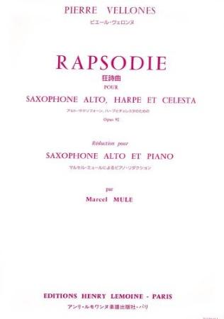 RHAPSODIE Op.92 (score & parts)