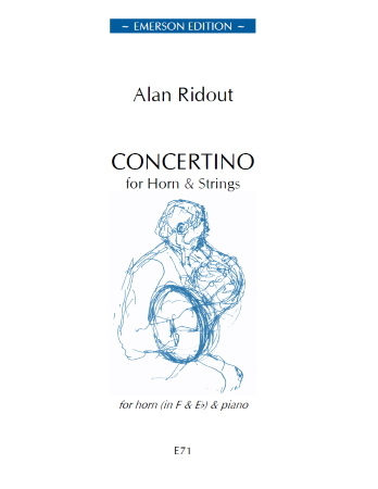 CONCERTINO FOR HORN (set of parts)