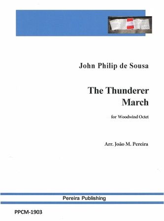 THE THUNDERER MARCH (score & parts)
