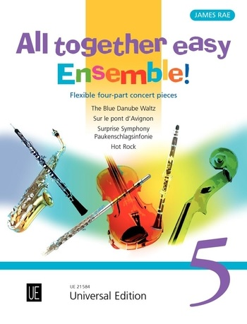 ALL TOGETHER EASY ENSEMBLE Volume 5 (score & parts)