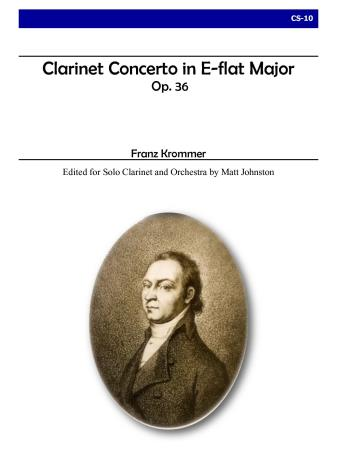 CLARINET CONCERTO in Eb major, Op.36