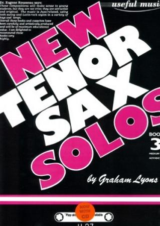 NEW TENOR SAX SOLOS Book 3 + CD
