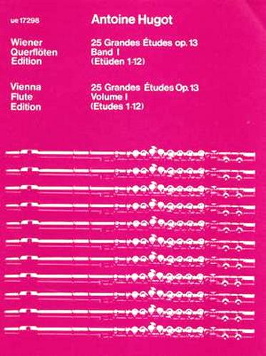 25 GRANDES ETUDES Op.13 Volume 1