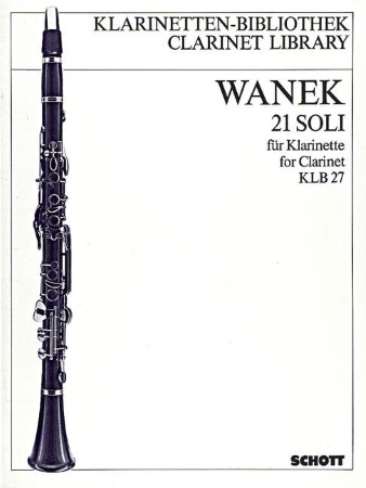 21 SOLI FOR CLARINET
