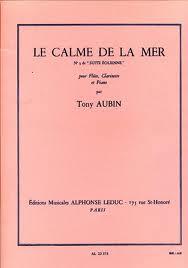 LE CALME DE LA MER