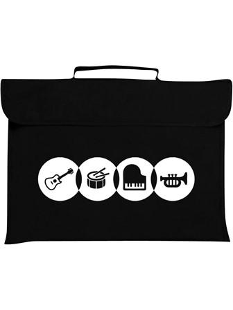 MUSIC BAG Instruments (Black)