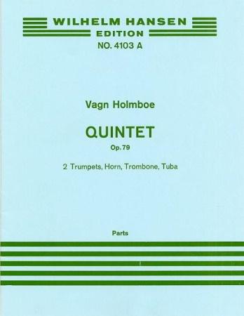 QUINTET Op.79 parts