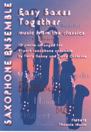EASY SAXES TOGETHER: Music from the Classics