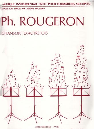 CHANSON D'AUTREFOIS score & 30 parts