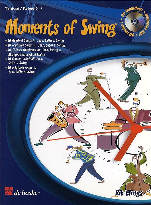 MOMENTS OF SWING + CD (bass clef)