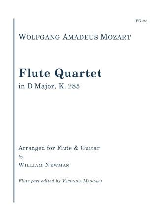 FLUTE QUARTET in D major K. 285