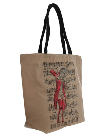SHOPPING BAG Mozart (Beige)