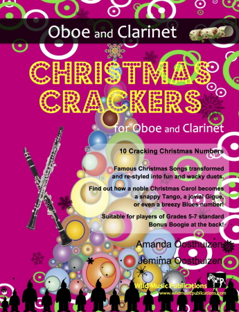 CHRISTMAS CRACKERS for Oboe & Clarinet