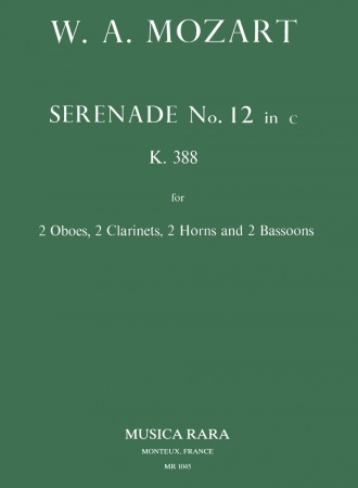 SERENADE No.12 in C minor K388 (set of parts)