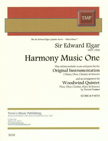 HARMONY MUSIC ONE (score & parts)
