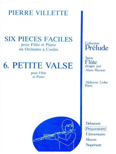 SIX PIECES FACILES: No.6 Petite Valse