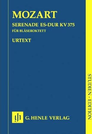 SERENADE in Eb major KV 375 (study score)