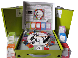 MUSICAL TRIXSTAR Music Theory Board Game
