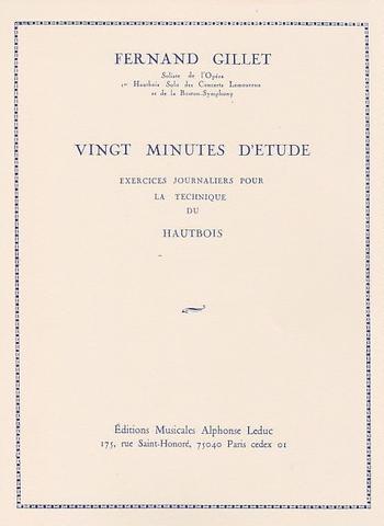 VINGT MINUTES D'ETUDE