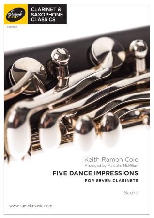 FIVE DANCE IMPRESSIONS (score & parts)