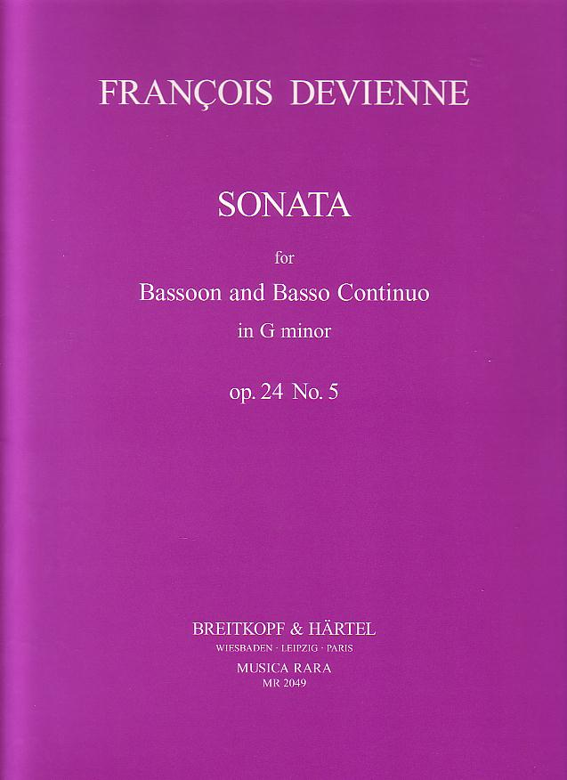 SONATA in G minor Op.24 No.5