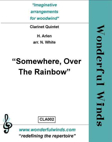 SOMEWHERE OVER THE RAINBOW (score & parts)