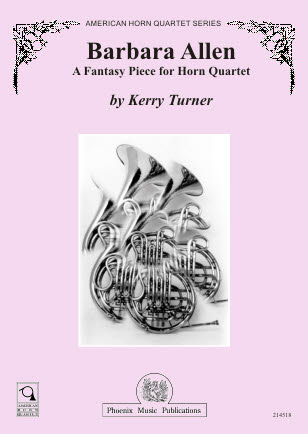 BARBARA ALLEN Fantasy Piece score & parts