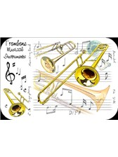 PLACEMATS Trombone (Pack of 4)