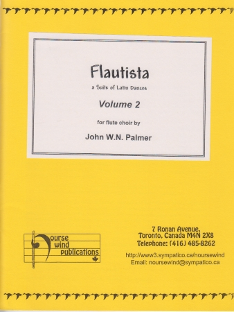FLAUTISTA Volume 2 score & parts