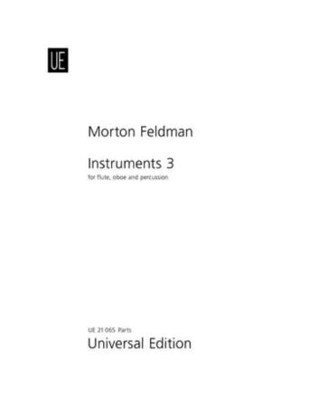 INSTRUMENTS III (1977) score