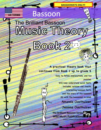THE BRILLIANT BASSOON Music Theory Book 2 (US Edition)