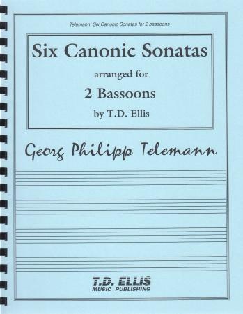 SIX CANONIC SONATAS (playing score)