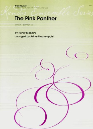 THE PINK PANTHER (score & parts)