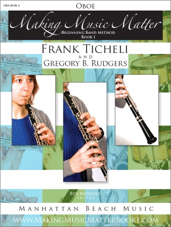 MAKING MUSIC MATTER Book 1 Oboe