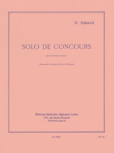 SOLO DE CONCOURS Op.10