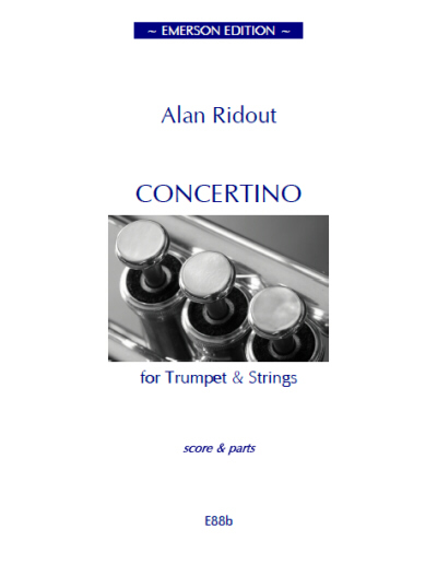 CONCERTINO FOR TRUMPET set of parts