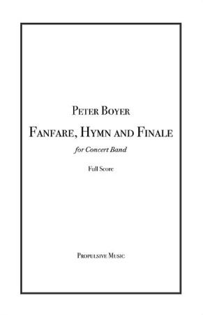 FANFARE, HYMN AND FINALE (score)